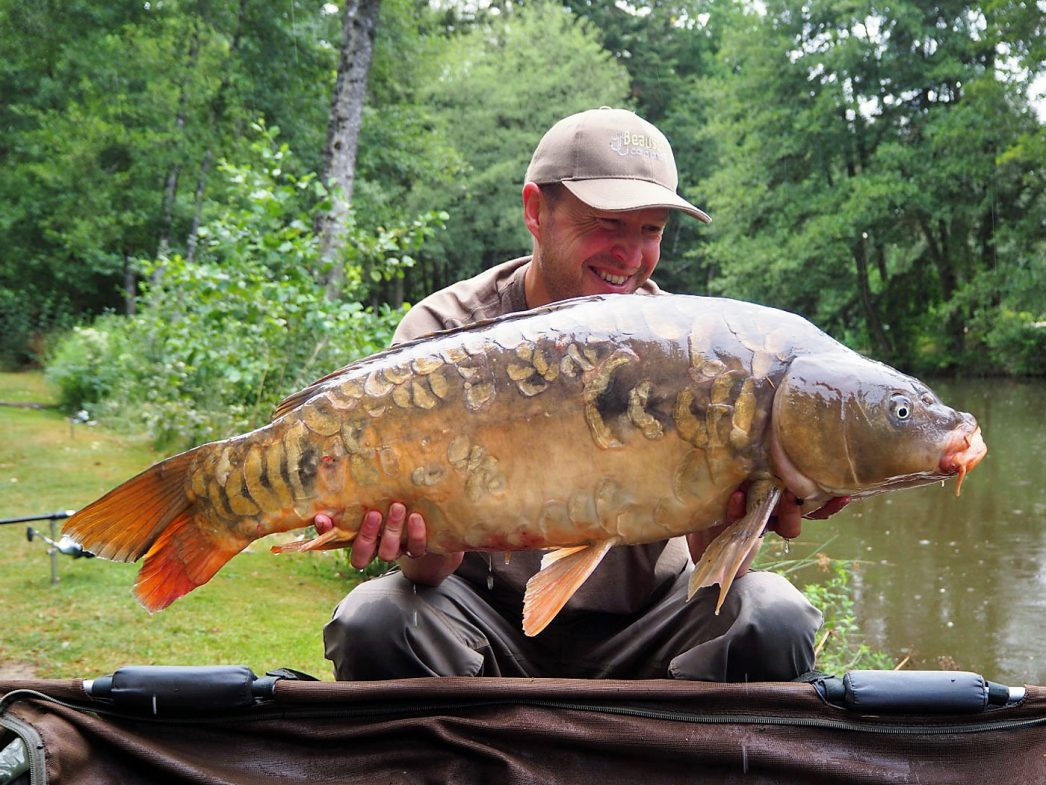 Matt with The Duchess at 27lbs 8oz