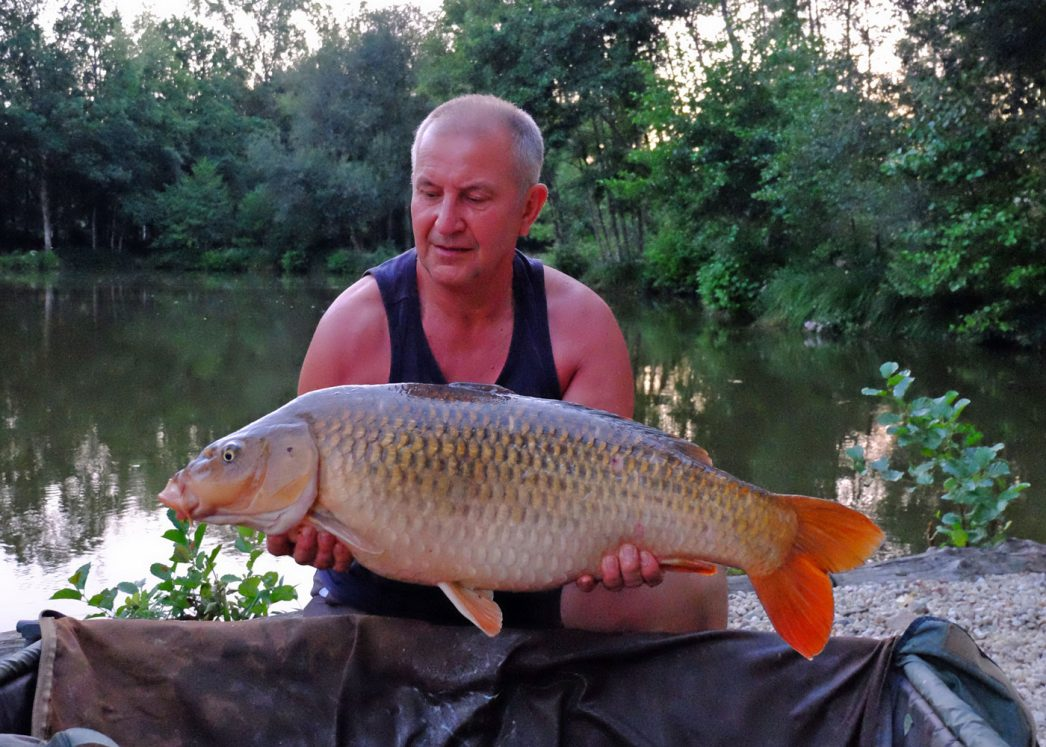 Peter with a 24lb common carp