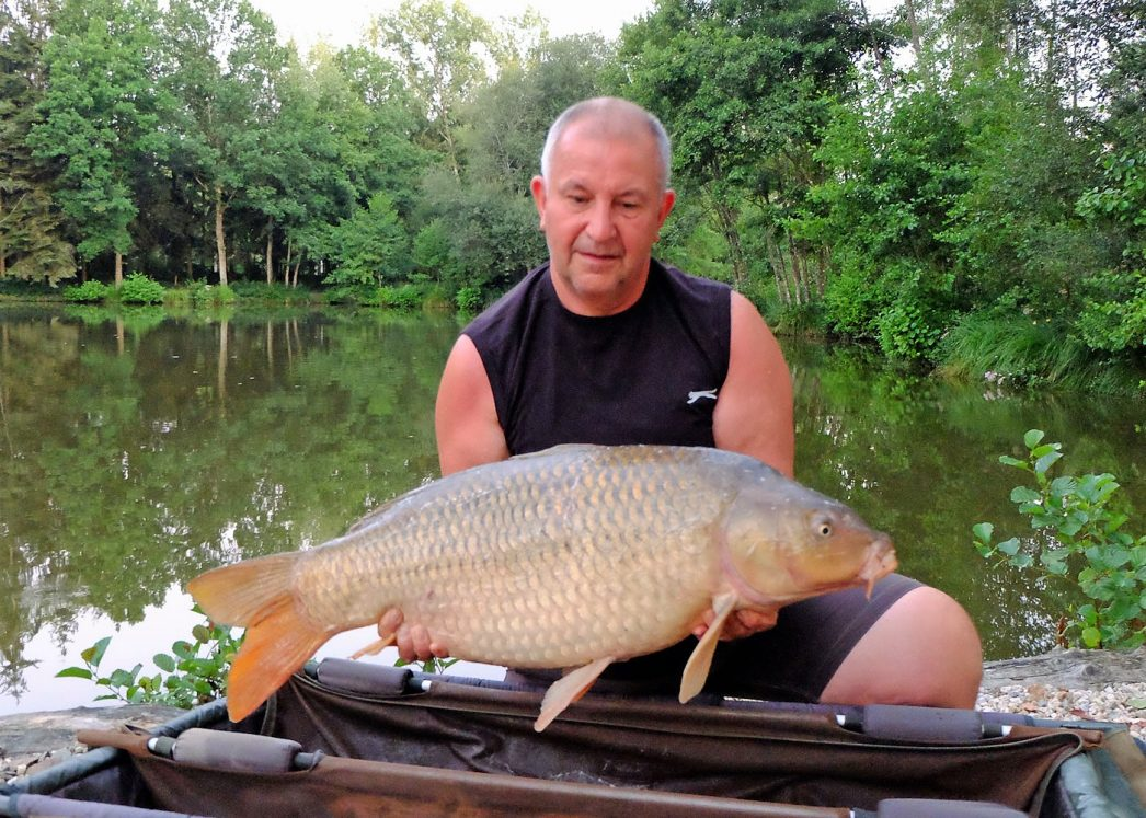 Peter with a 28 pound common