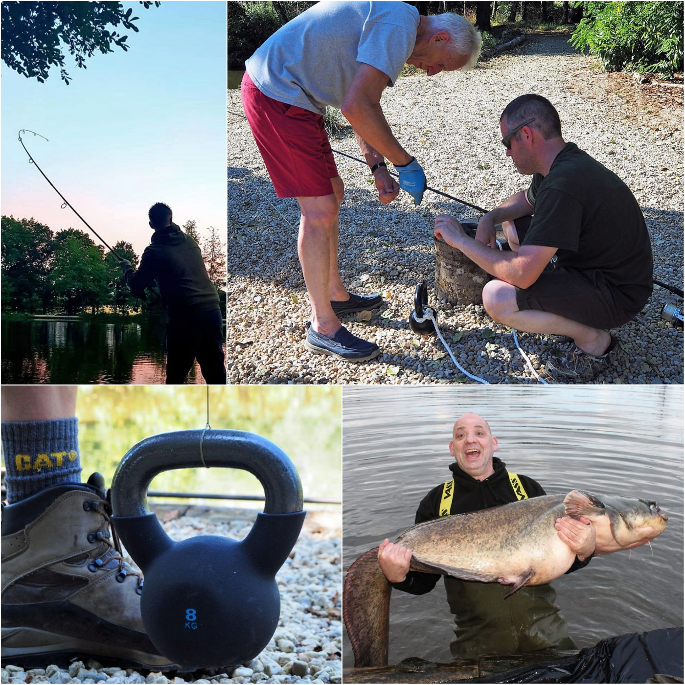 strong mainline for carp and catfish fishing