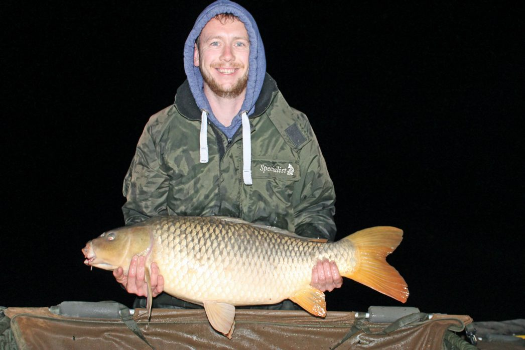 Ben with a 25lbs common