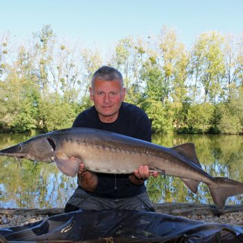 Bob with Big Sammy at 24lbs 12oz