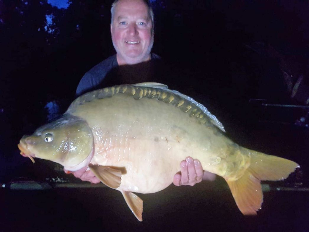 Dave with Galaxy at 31lbs