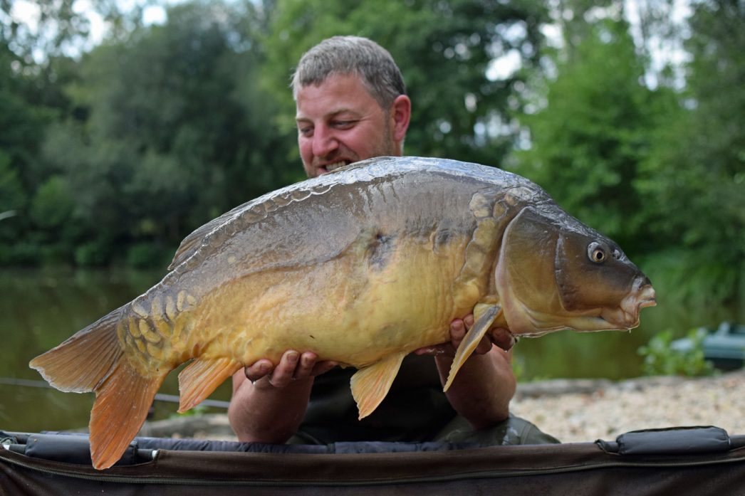 Jon with Janus at 28lbs 12oz