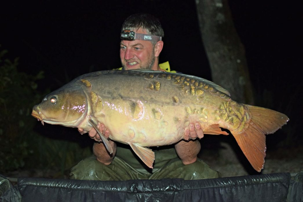 Jon with The Sub at 34lbs