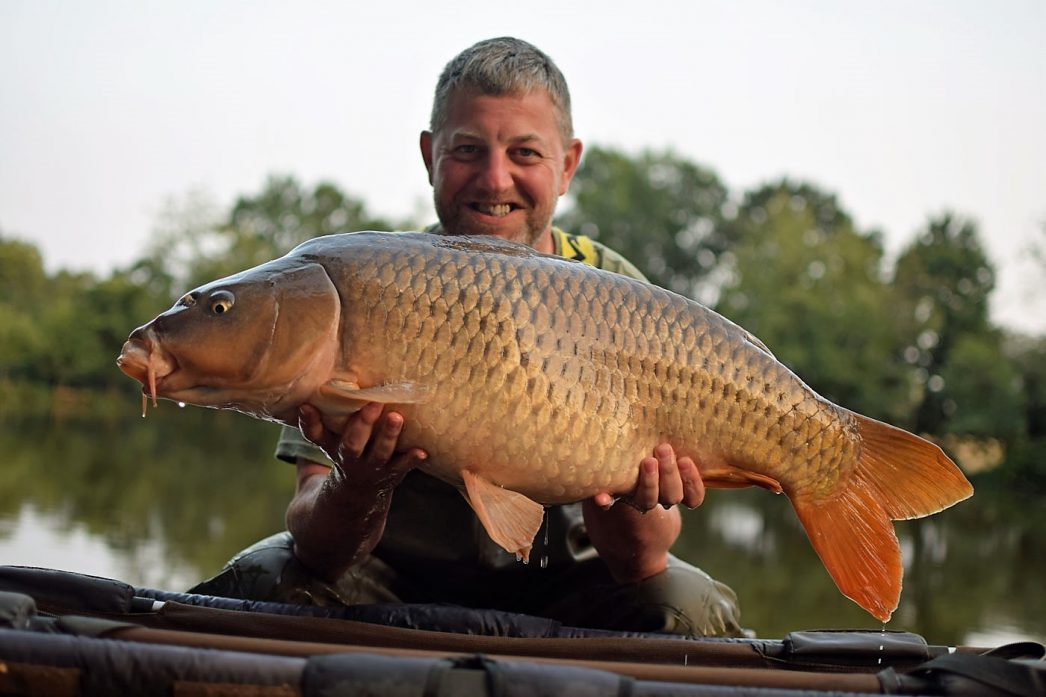 Jon with a 27lb common