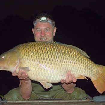 Jon with a 29lb common