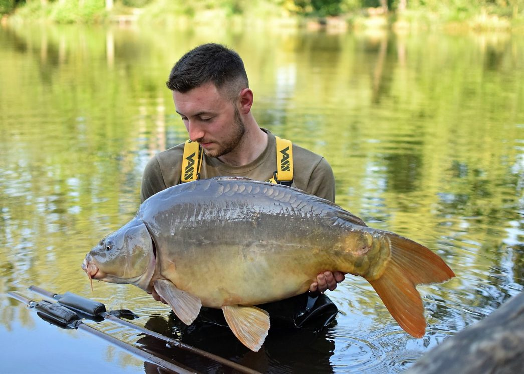 Max with Batman at 28lb 12oz