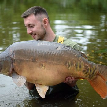 Max with The Big Apple at 35lbs 8oz