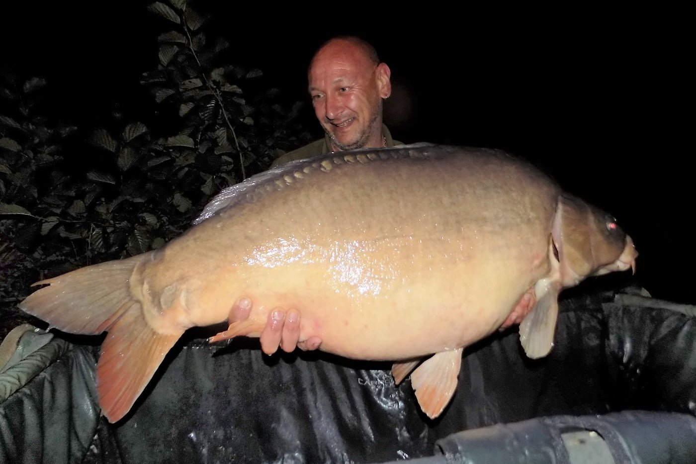 Neil with Mr Angry at 45lbs