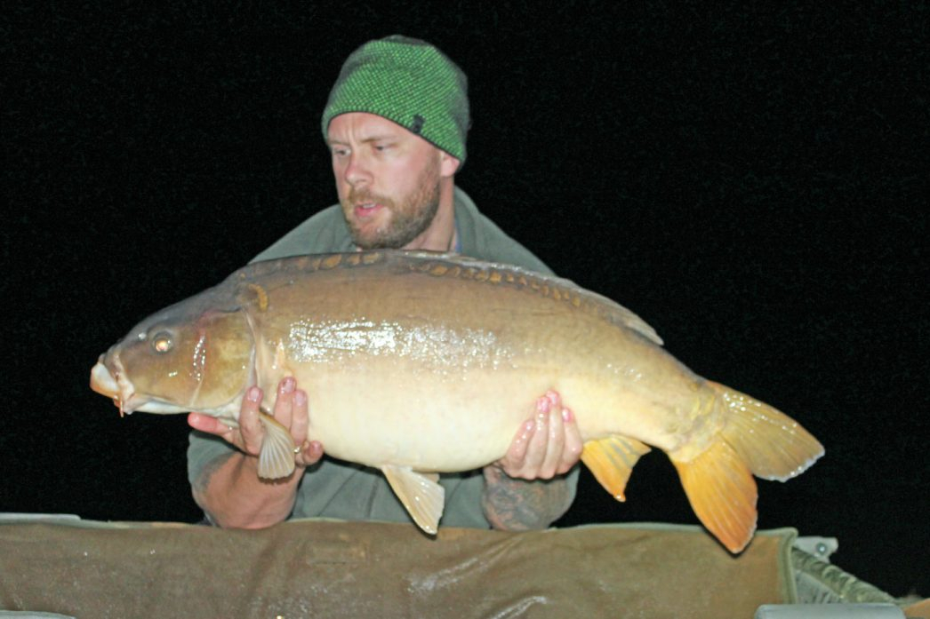 Rob with Moonscale at 34lbs