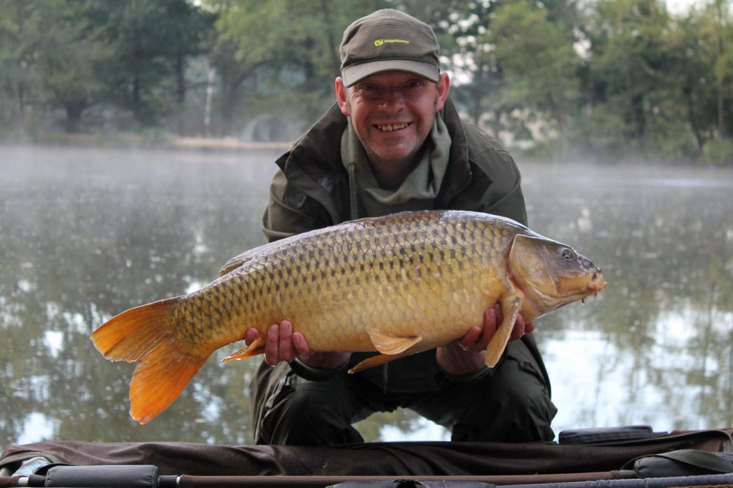 Rob with a 19lbs 12oz common