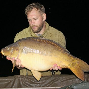Rob with the Dark Knight at 36lbs