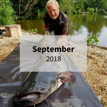 September 2018 carp fishing