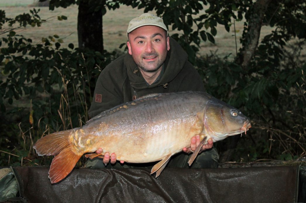 Simon with Moonscale at 28lbs 12oz