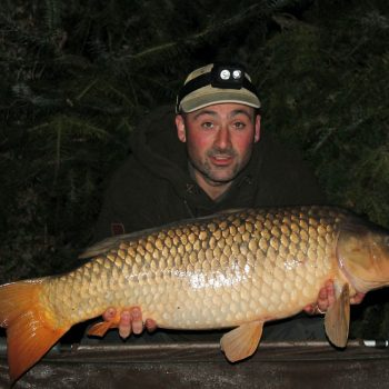 Simon with a 26lbs 8oz common