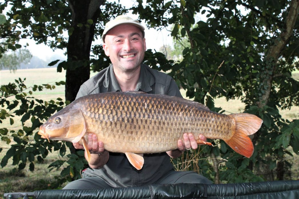 Simon with a 27lbs 4oz common
