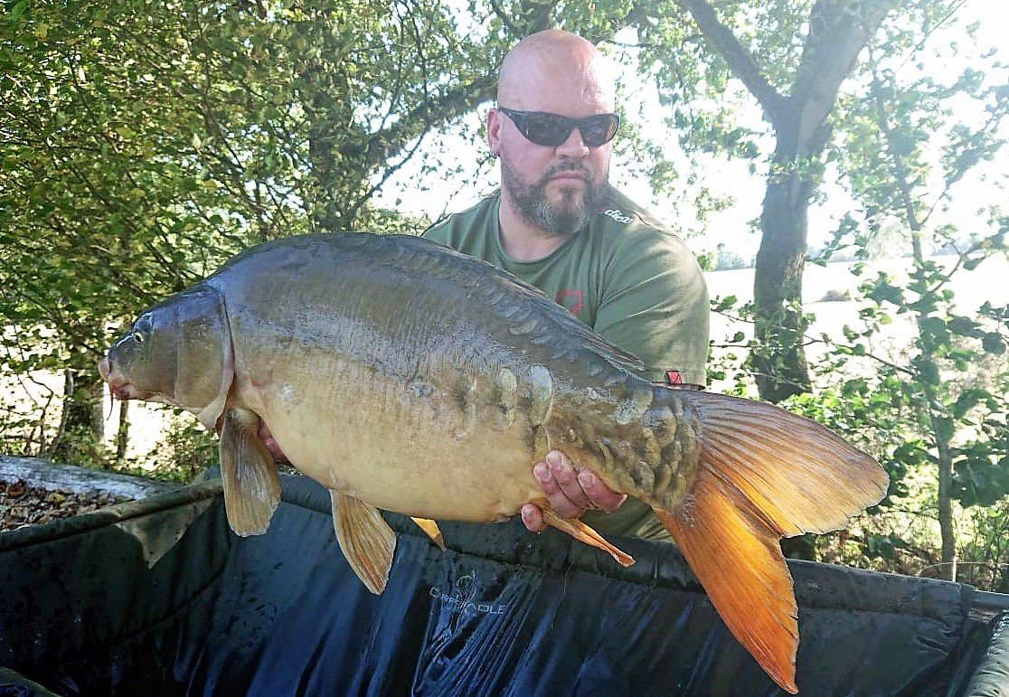 Vinnie with Scalpel at 34lbs