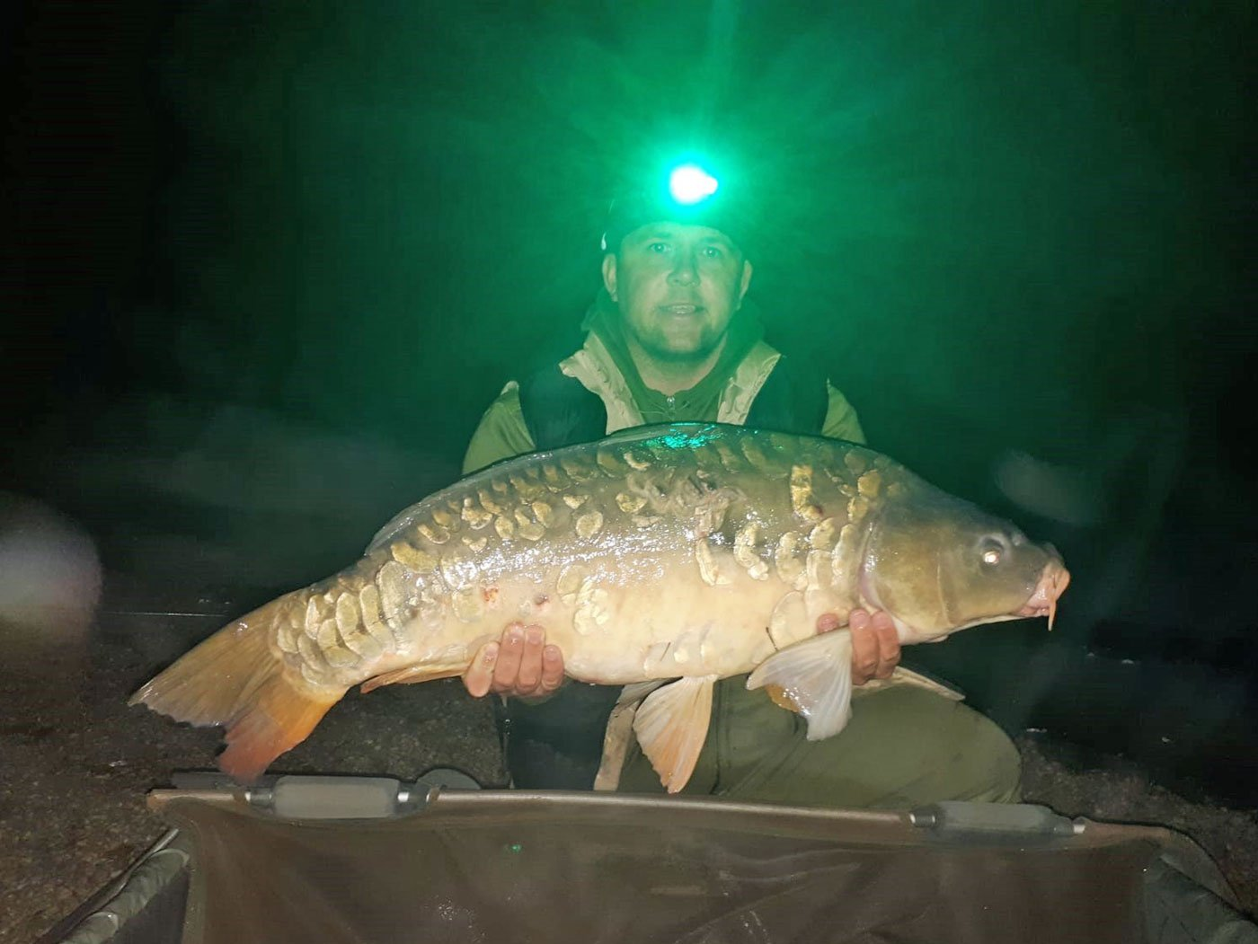 Ben with the Duchess at 29lbs