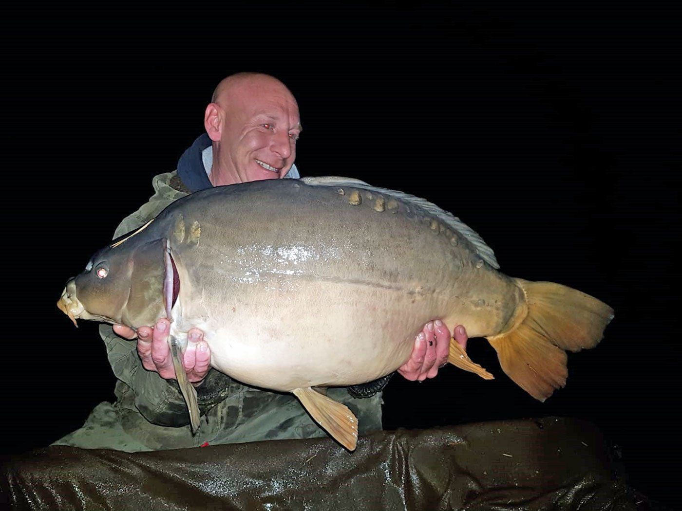 Jon with Horizon at 36lbs 14oz