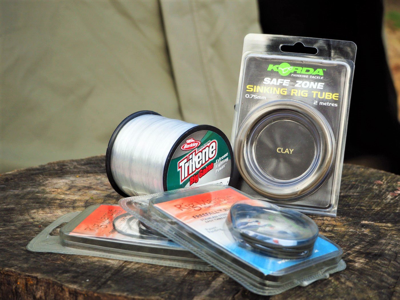 carp fishing mainline and tubing