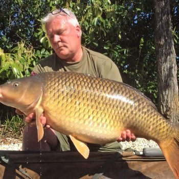 Wingham <b>Record</b> 61 lb 4 oz carp after 45 minute battle
