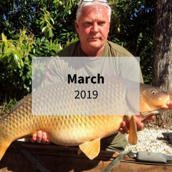 carp fishing in france in march 2019