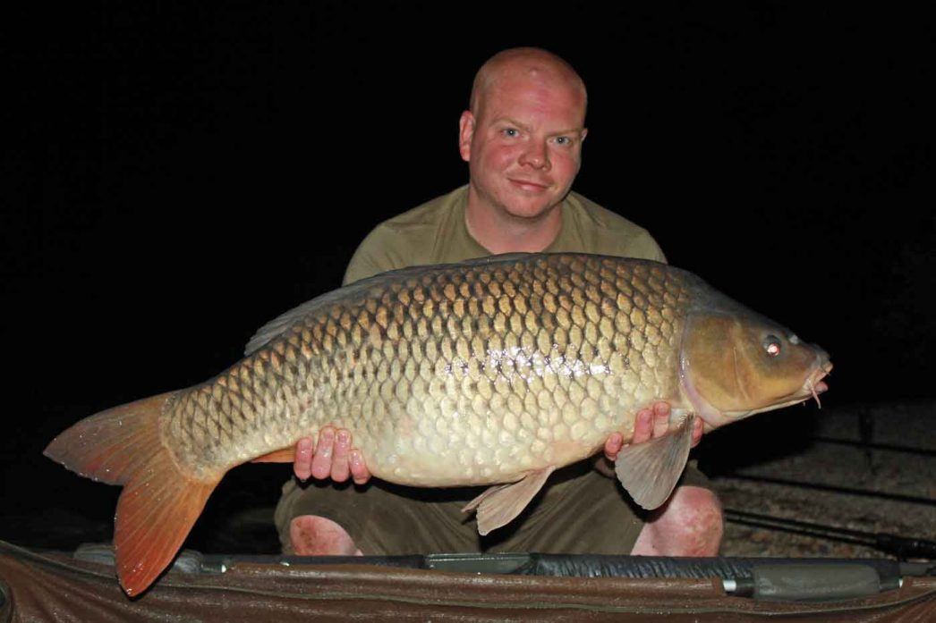 Craig with a 28lbs 14oz common
