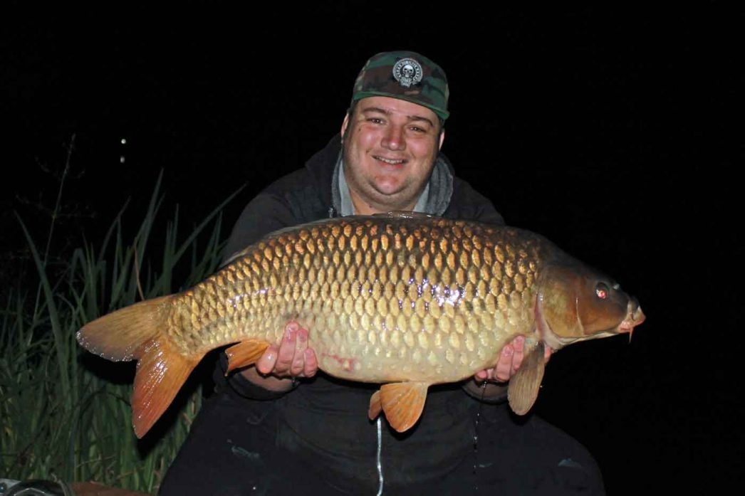 Craig with a 31lb 4oz ommon