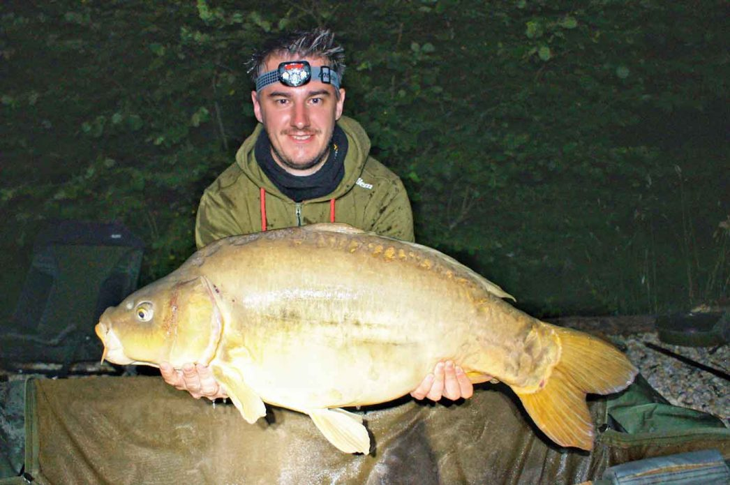 Luke with The Little Orange at 28lbs
