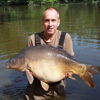 maurice with a carp