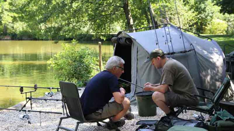 Carp Fishing in France with Tuition - Beausoleil