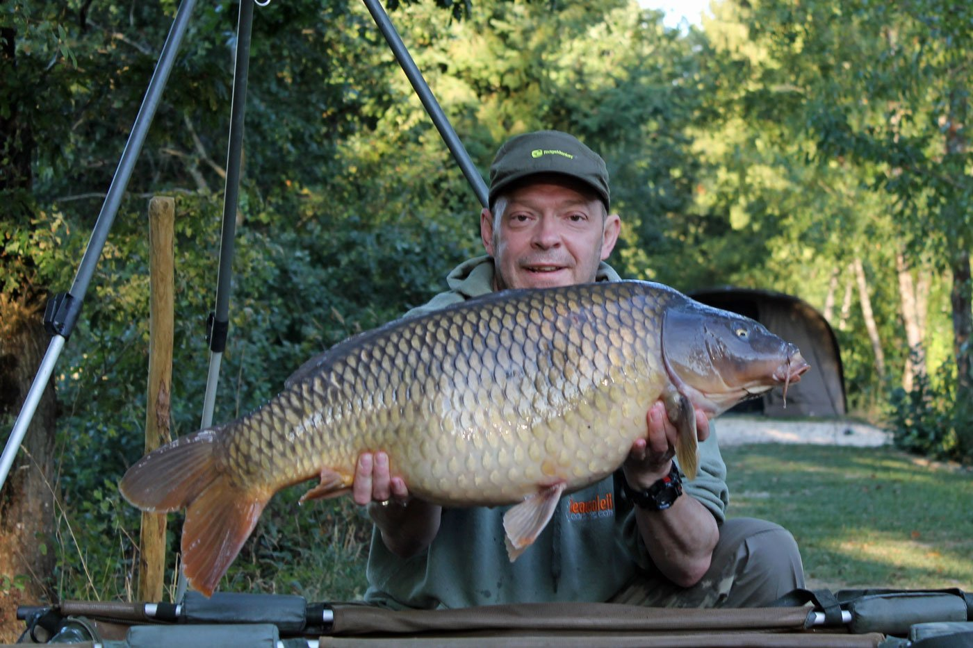 Rob with a common of 29lbs 12oz in france
