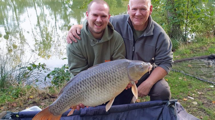 Carp Fishing in France for Families at Beausoleil