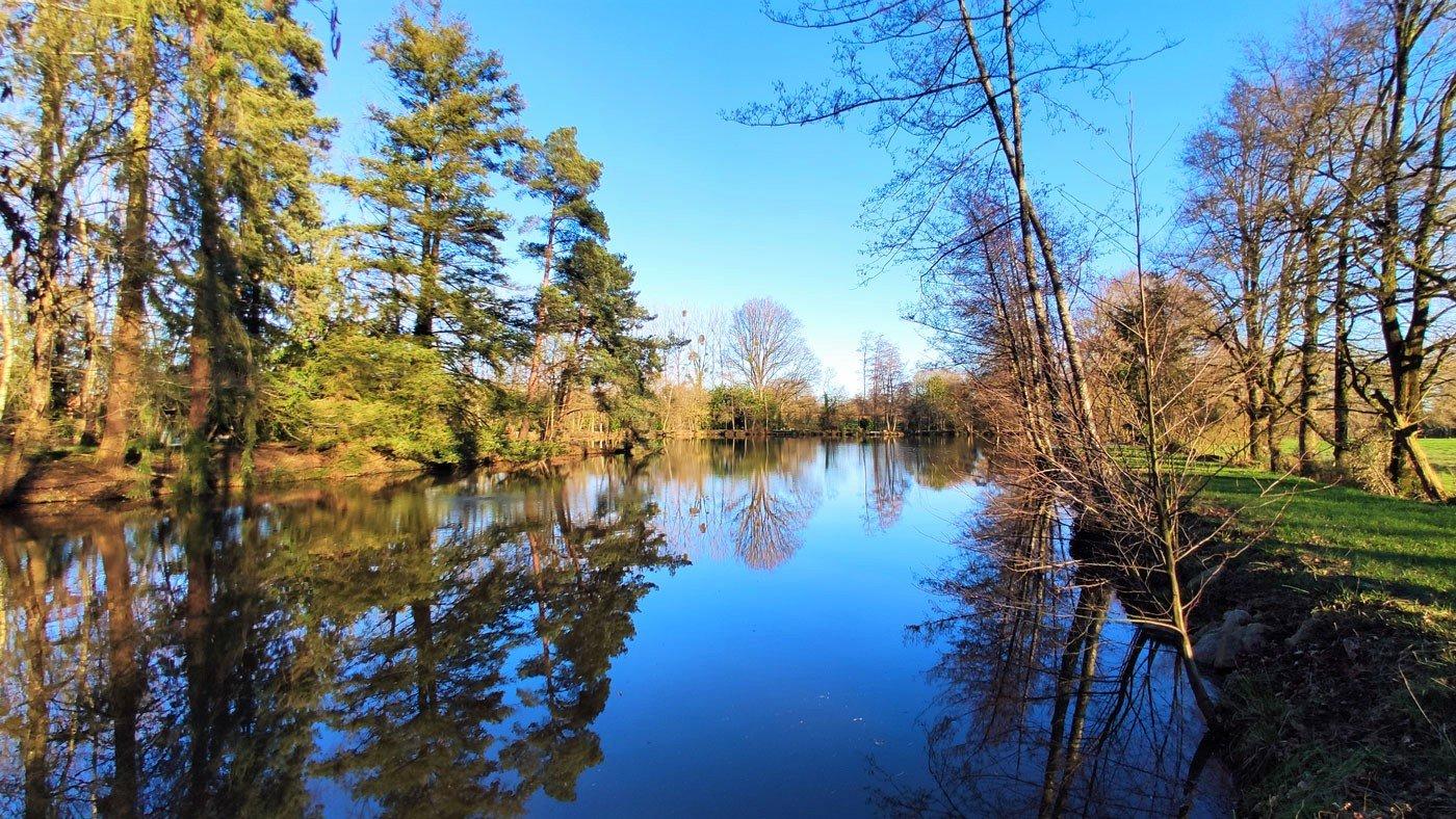 carp lake in february