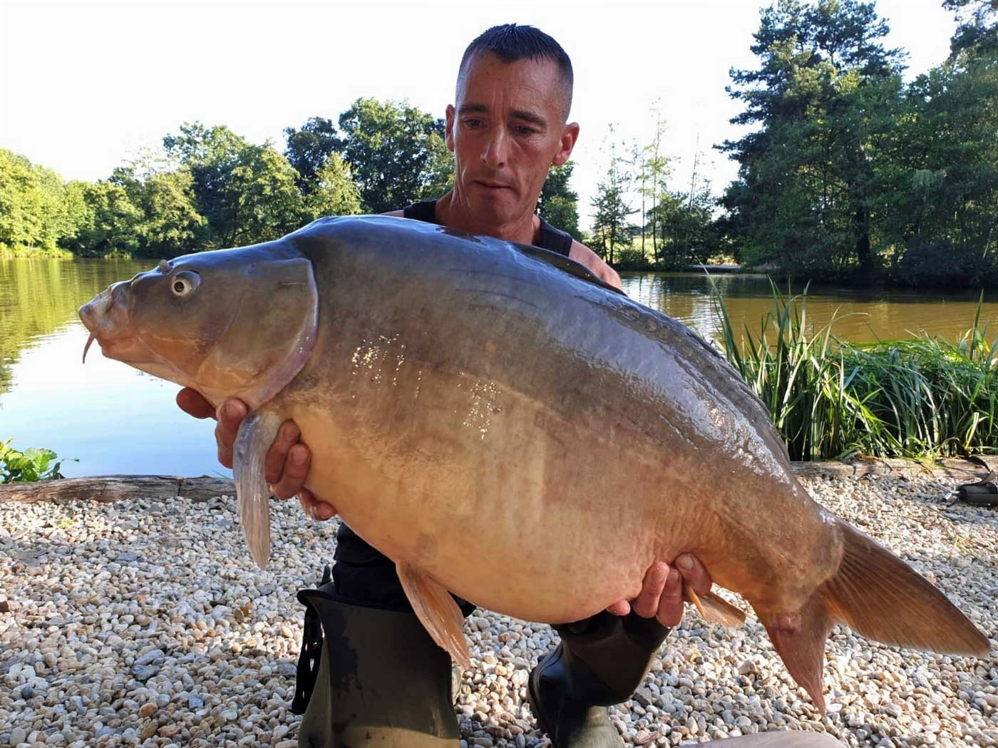 Lee with Earl Grey at 36lbs