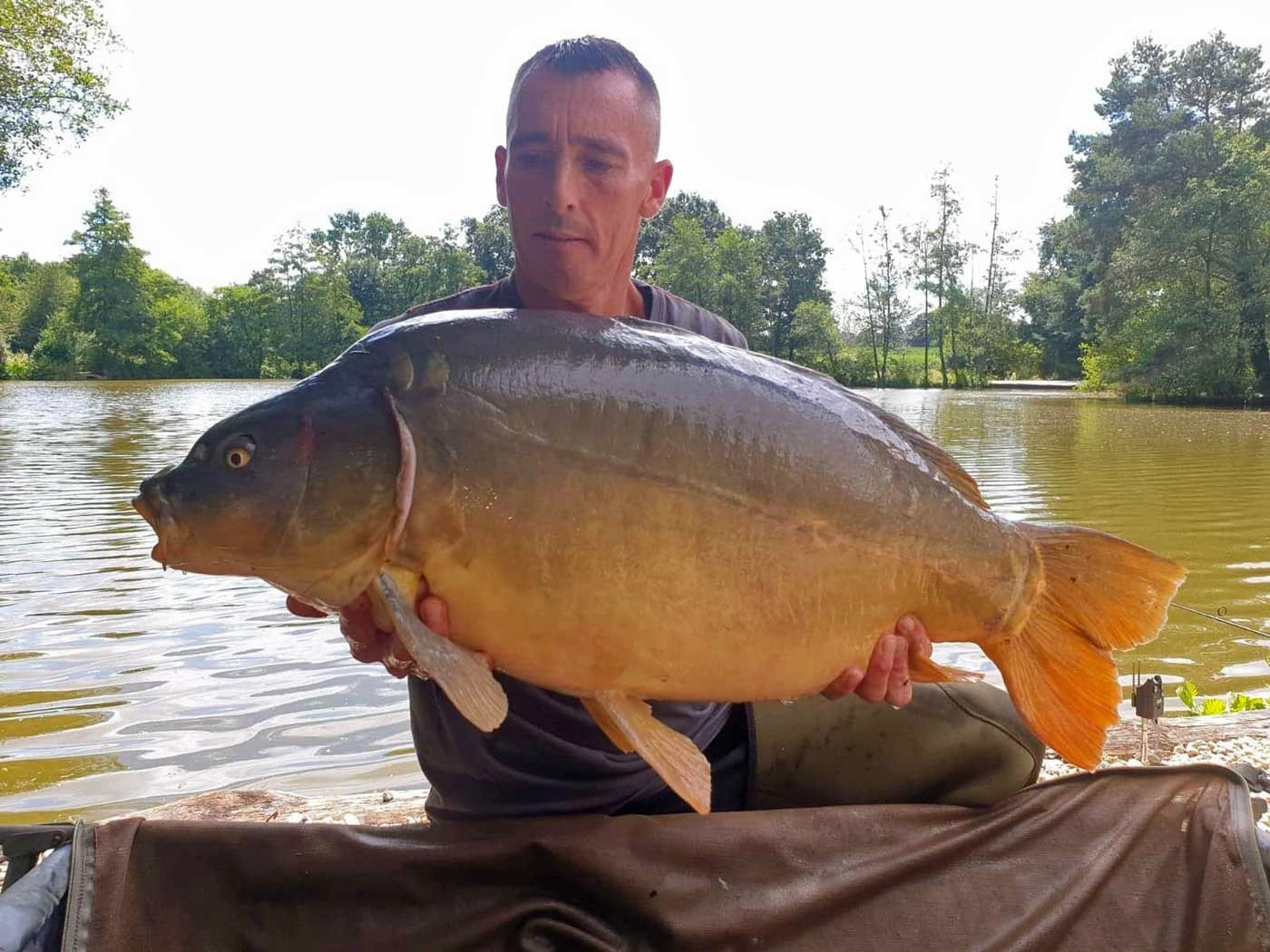 Lee with Horizon at 37lbs