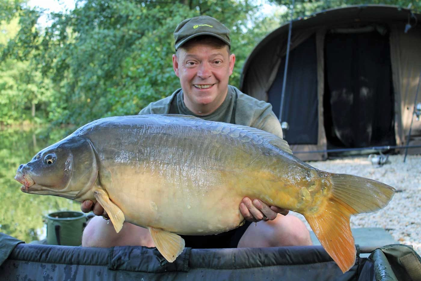 Rob with Helix at 31lbs