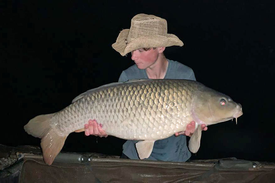 Brad with Patch at 34lbs 14oz