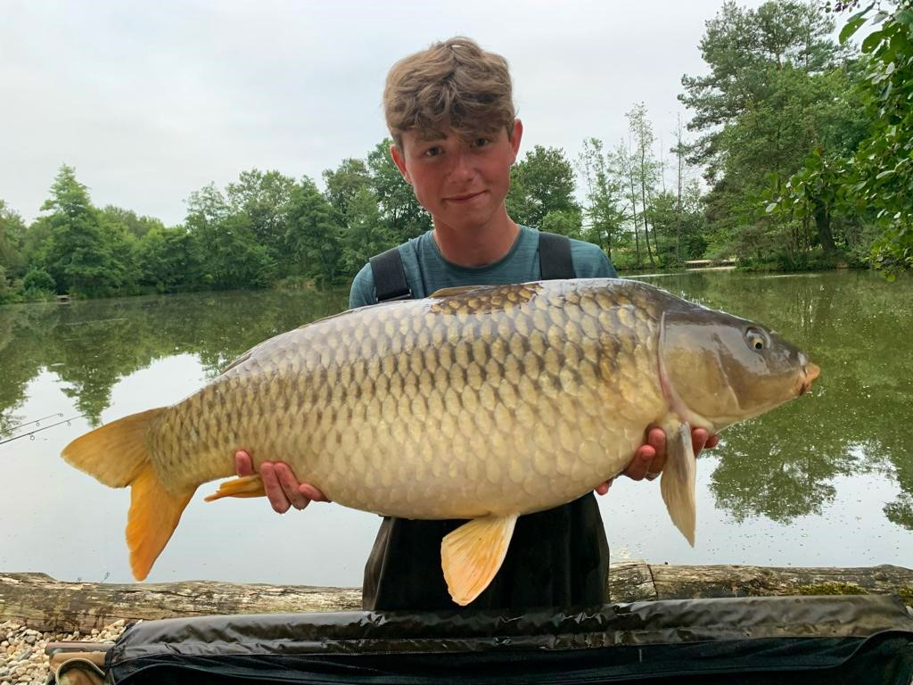 Brad with a 32lbs 4oz common
