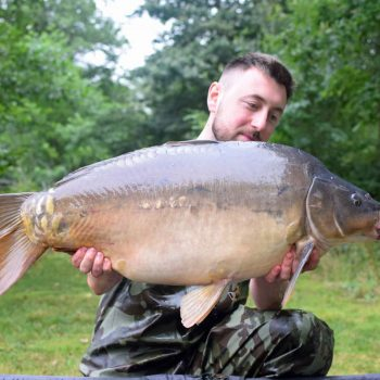 Max with The Dark Pearl at 32lbs 12oz
