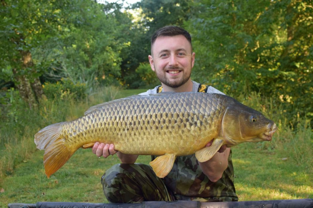 Max with the Long Common at 25lbs